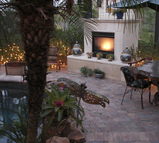 Stay Safe With Your Outdoor Fireplace This Summer