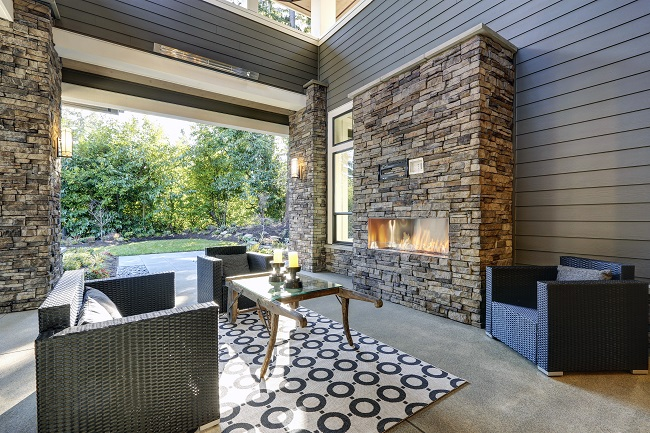 An Outdoor Fireplace Can Help You Enjoy Your Lawn All Year Long