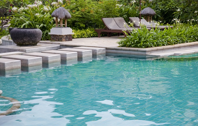 Design a Pool for Your Private Resort