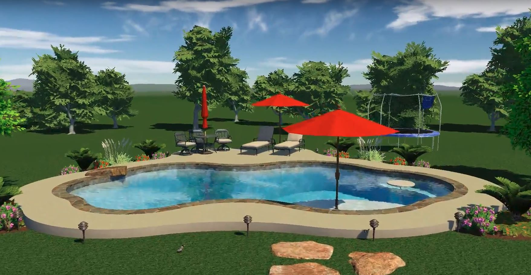 3d pool designs varsity pools patios virtual pool design
