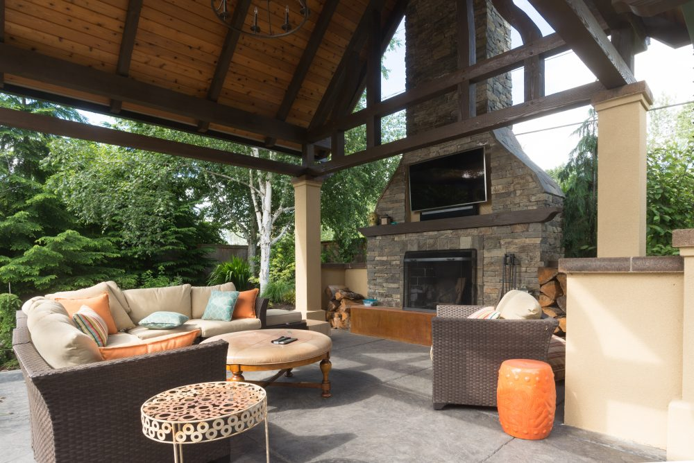 Are Outdoor Fireplaces Safe?