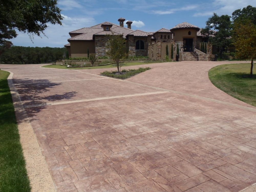 The Benefits of Choosing a Stamped Concrete Driveway